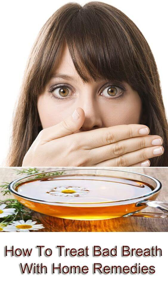 Bad Breath Halitosis Natural Remedy